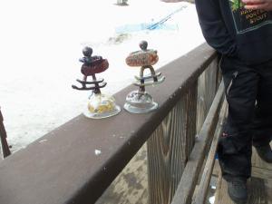 Rad snowskater trophies!